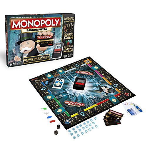 Hasbro Gaming B6677100 – Monopoly Banking Ultra Familienspiel